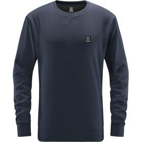 Haglöfs H Rundhals Sweater Herren dense blue melange